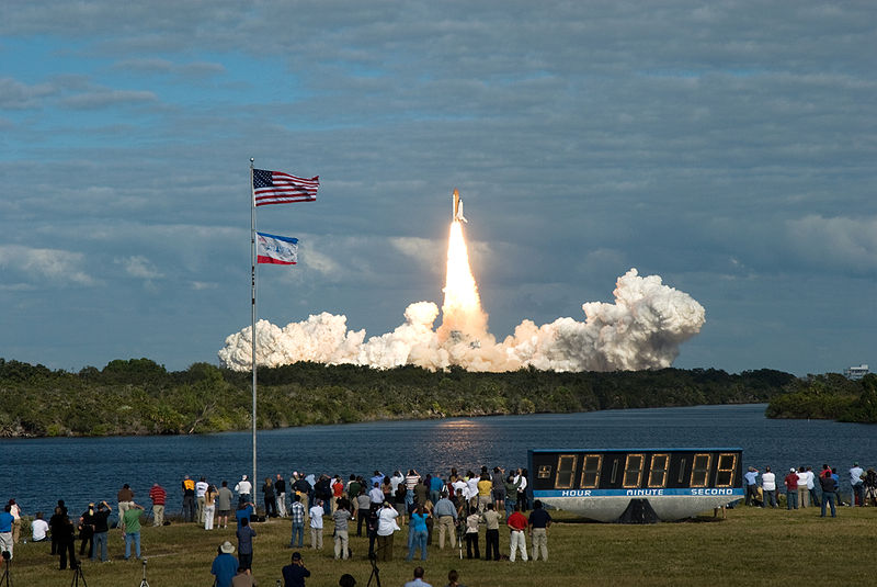 Liftoff of STS-129!