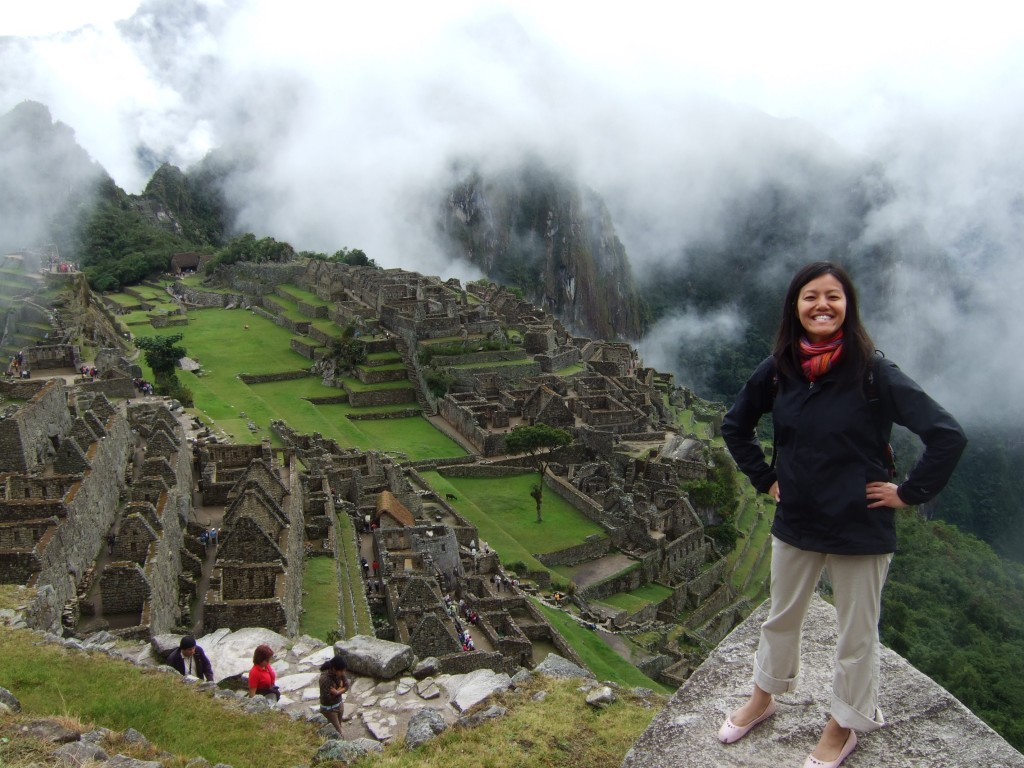 The Machu Picchu everyone knows and loves