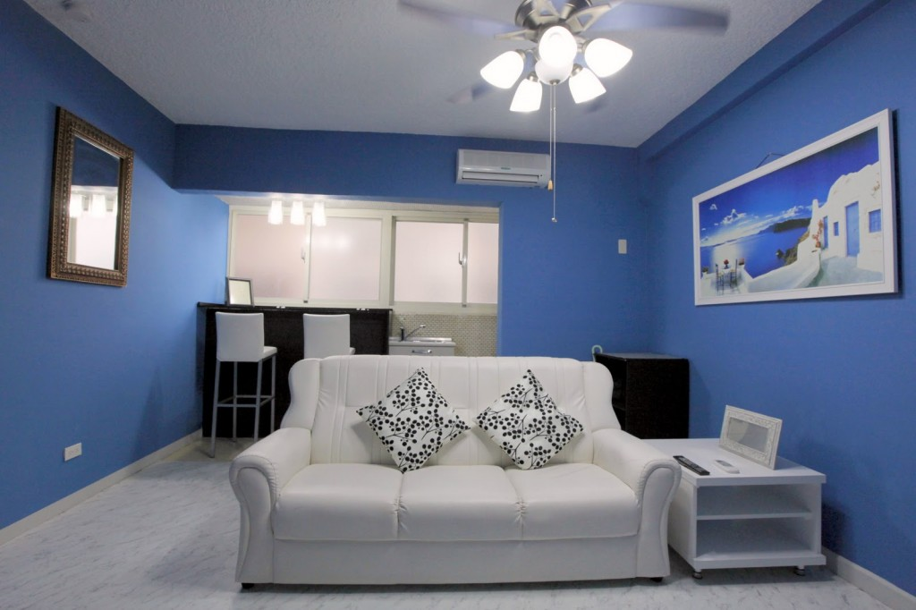 My lovely blue Wimdu apartment in Taipei