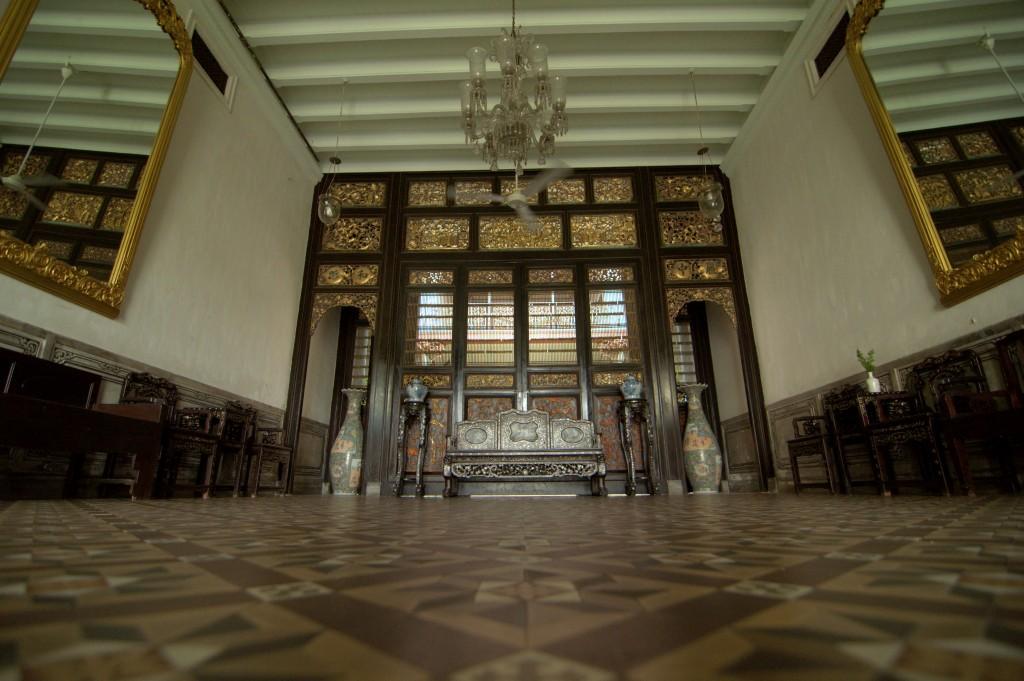 Entrance into Cheong Fatt Tze's interior
