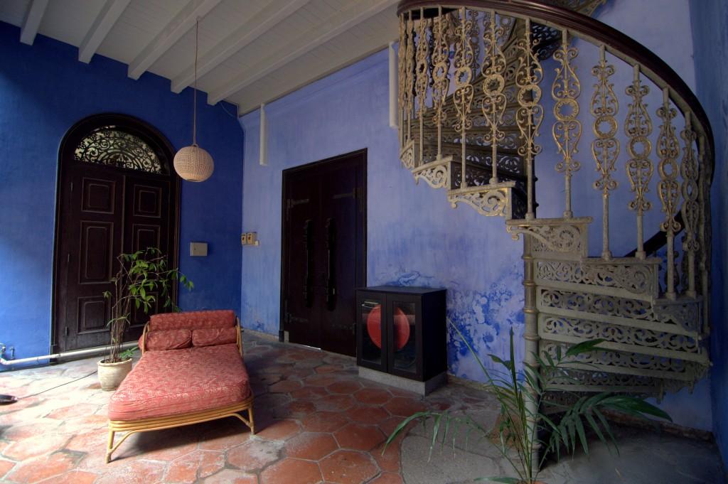 A lovely spot to enjoy the beauty of Cheong Fatt Tze Mansion
