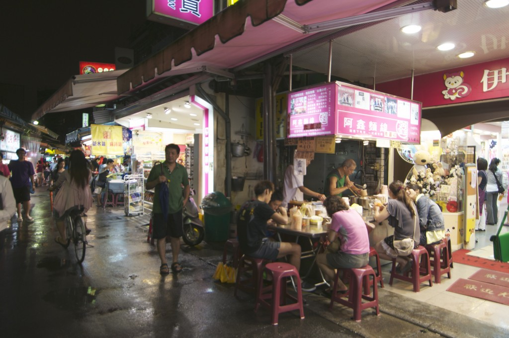 Street food at Shida Night Market