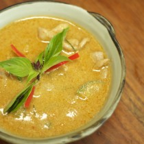 I learned to make red curry that's wonderfully fragrant and full of flavor.