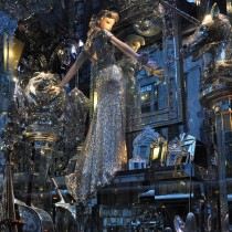 Bloomingdale's Christmas windows