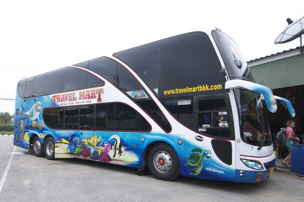 The modern comforts of Indra Tour buses