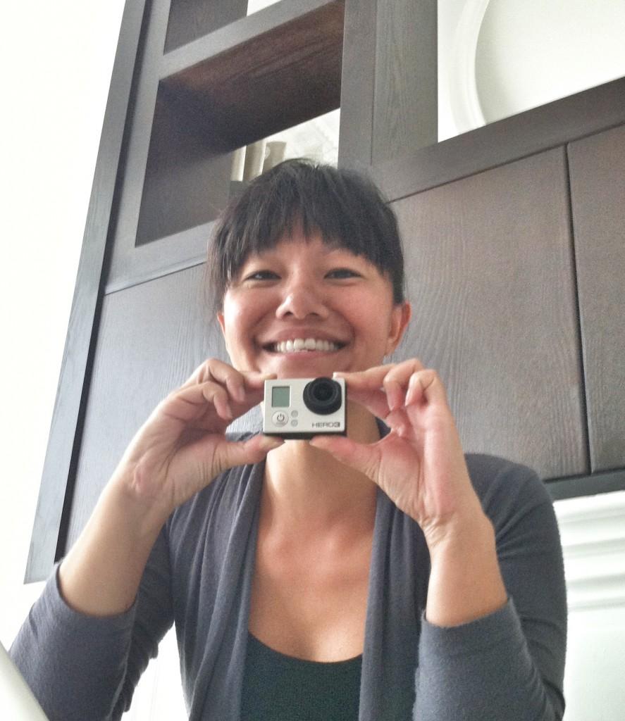 Loving my new GoPro camera