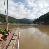 The image everyone has of taking the slowboat between Chiang Mai and Luang Prabang