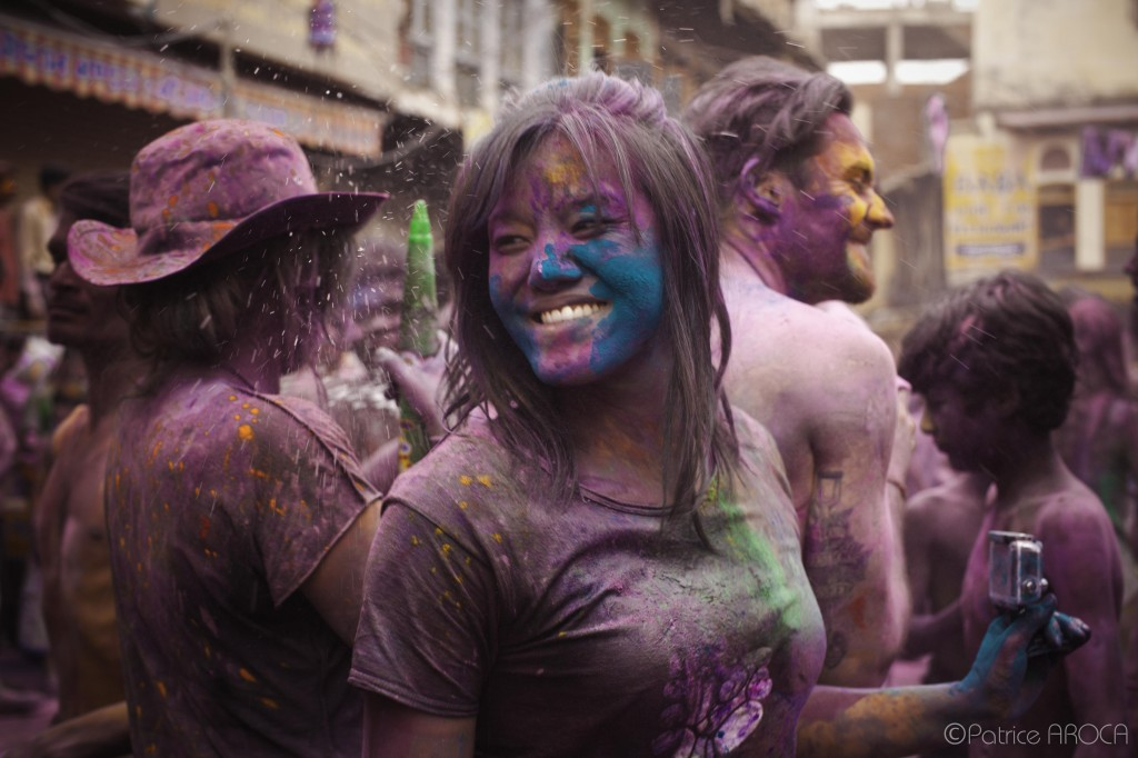 I can cross off attending the Holi Festival in India from my bucket list now! Photo courtesy of Patrice Aroca.
