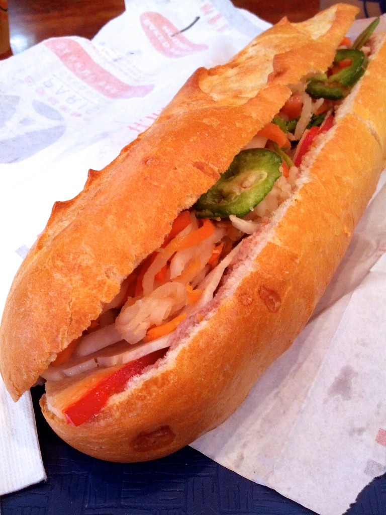 You can never go wrong with a Vietnamese sandwich.