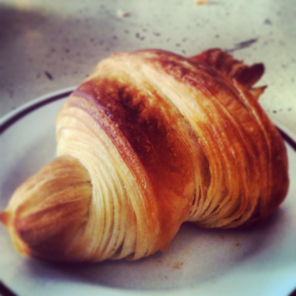 "Singapore's ""best croissant"" at Tiong Bahru Bakery."