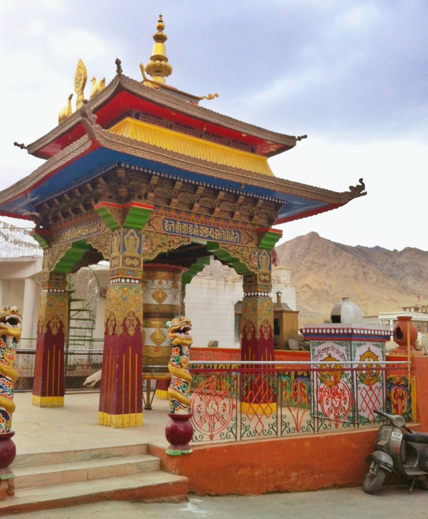 Tibetan influence in Leh.