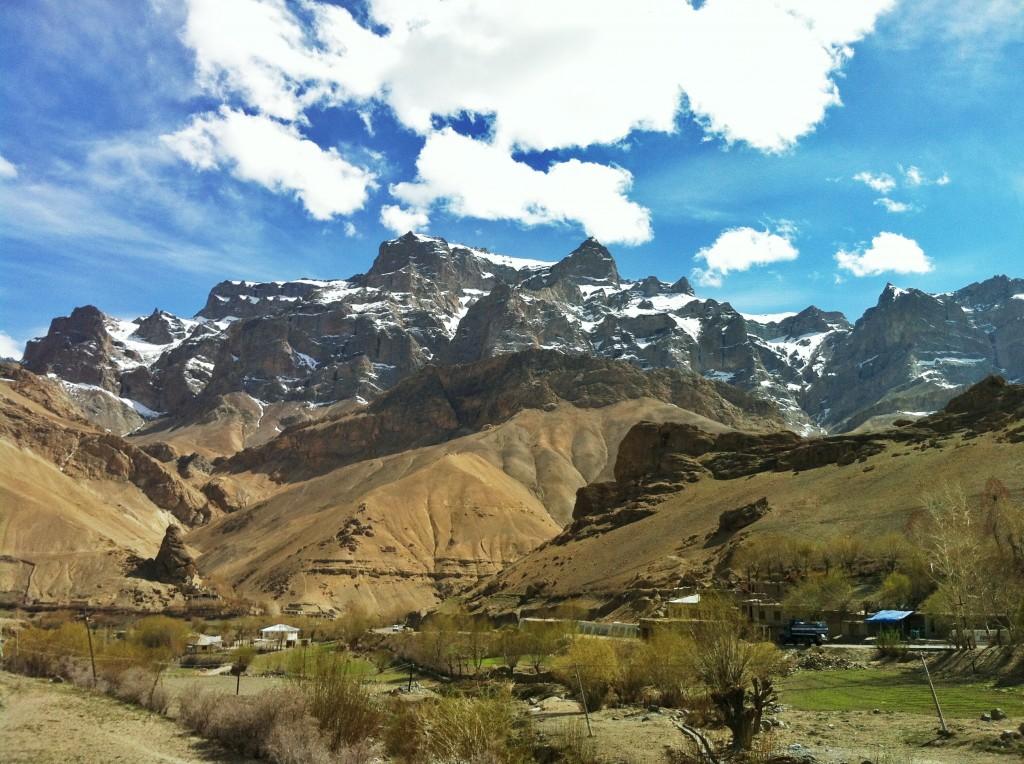 Mountains surrounding Ladakh.