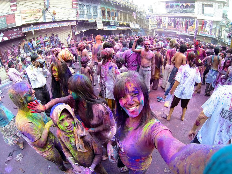 Holi Festival, India in March.