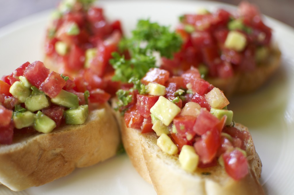 Dada bruschetta for the win.