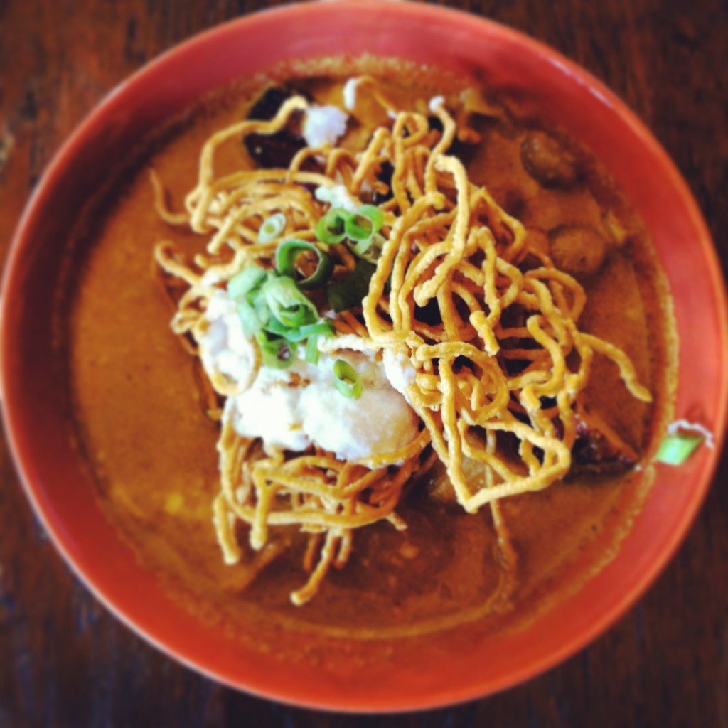 Don't leave Chiang Mai without trying a bowl of khao soi!