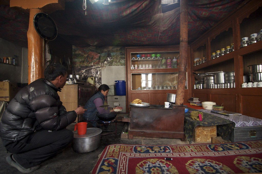 Homestay with a Ladakhi family.