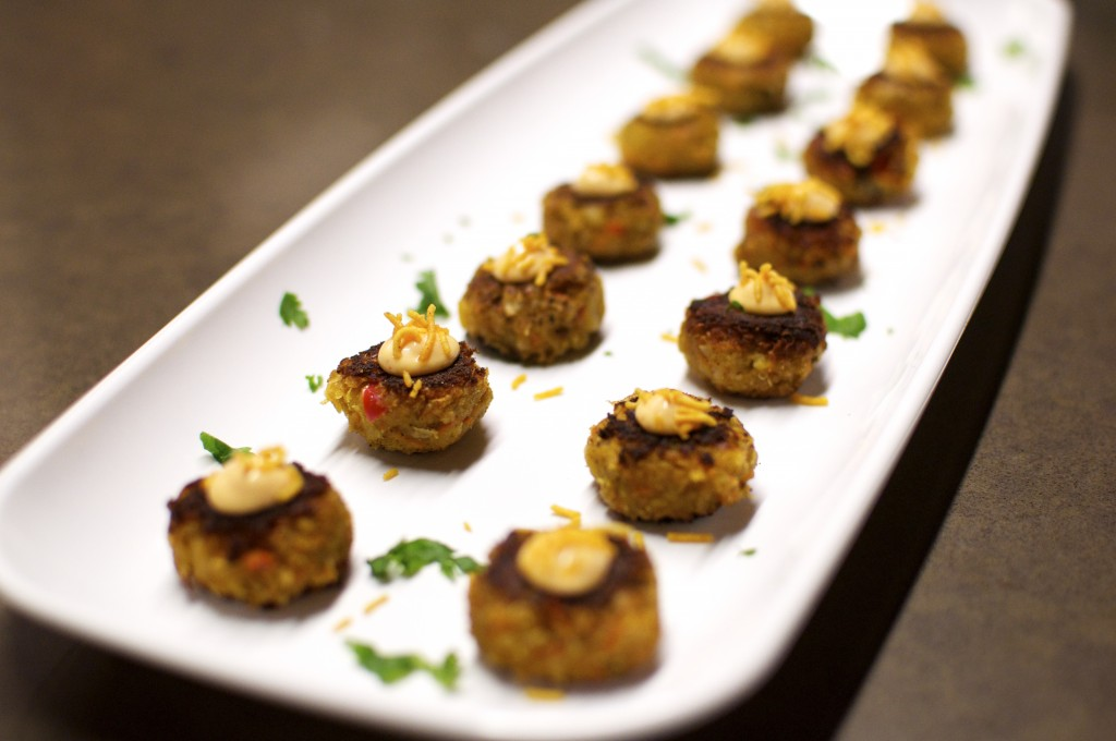 Once you pop these chickpea fritters in your mouth, you can't stop.