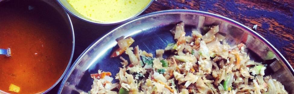 Sri Lankan food: Kothu Rotti