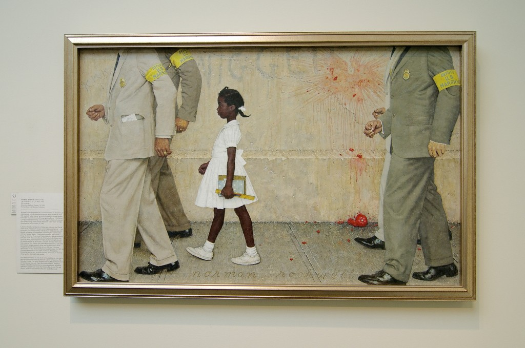 Norman Rockwell's Ruby Bridges