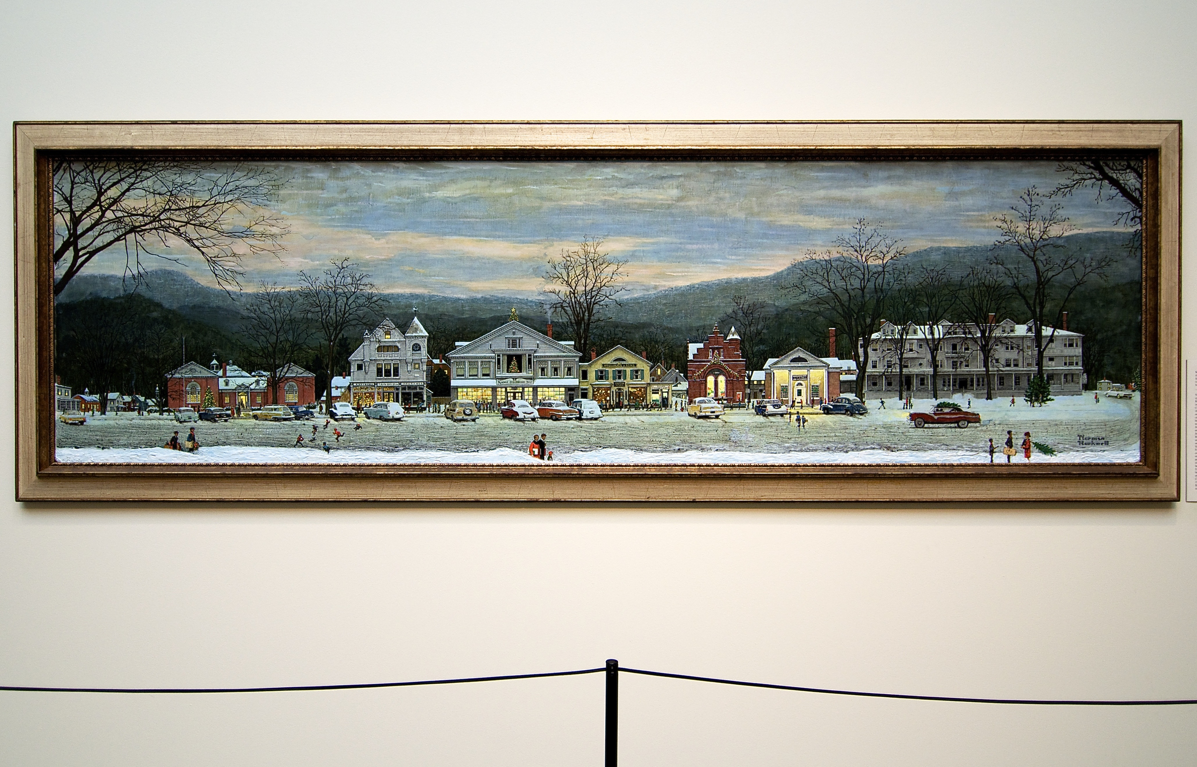 a history of the norman rockwell museum at stockbridge This landmark exhibition sheds new light on norman rockwell's art and  been  organized by the norman rockwell museum in stockbridge,.