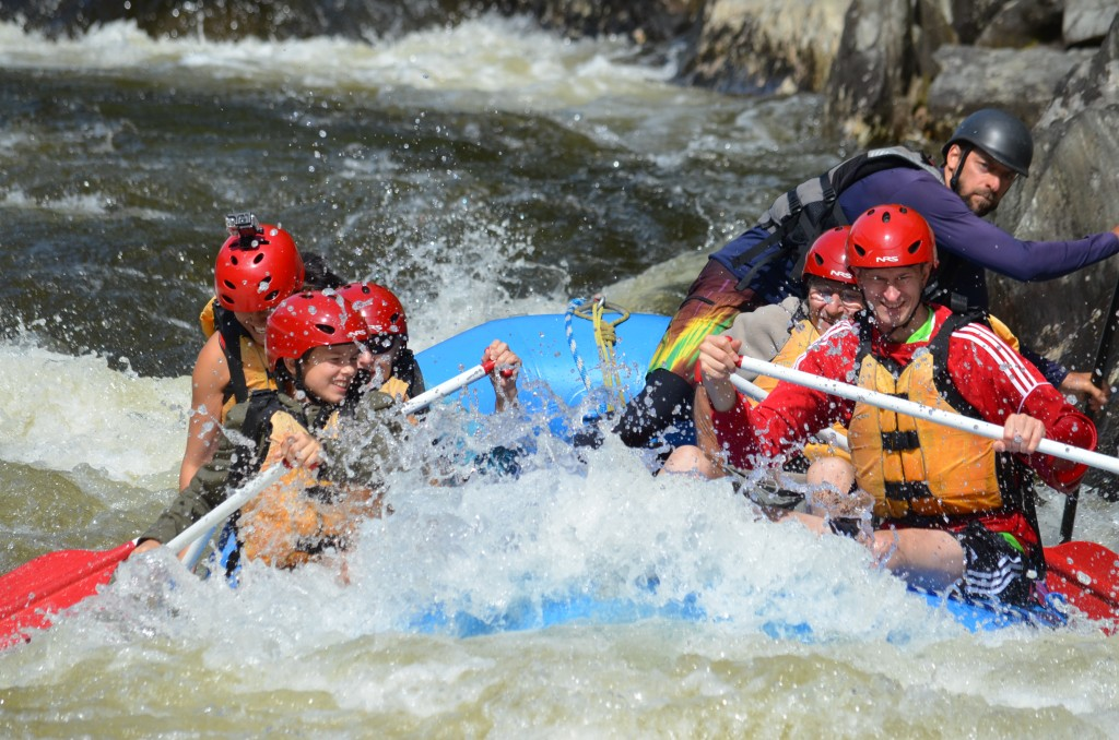 White water rafting with Crab Apple Whitewater.