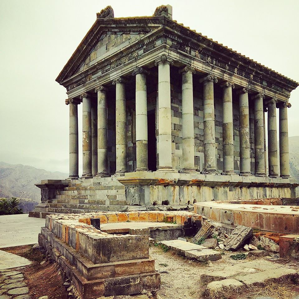 Garni Temple outside of Yerevan, Armenia.