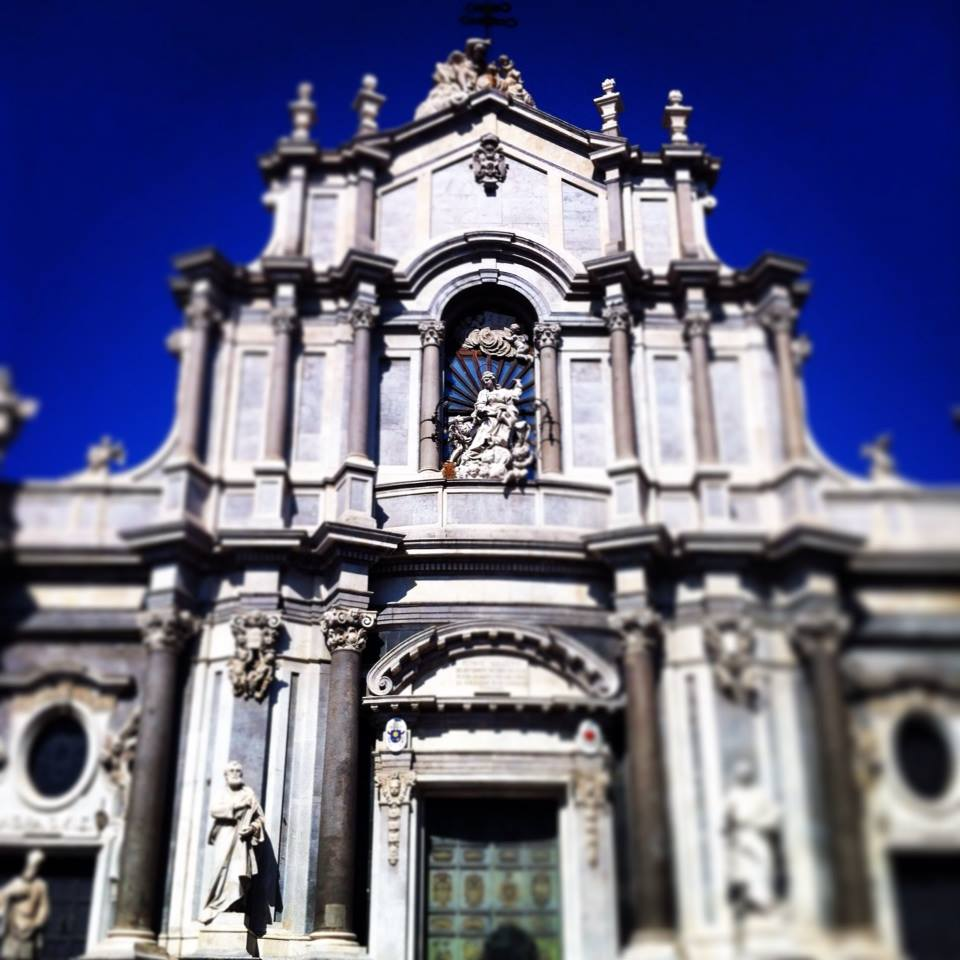 Churching in Catania, Sicily, Italy.