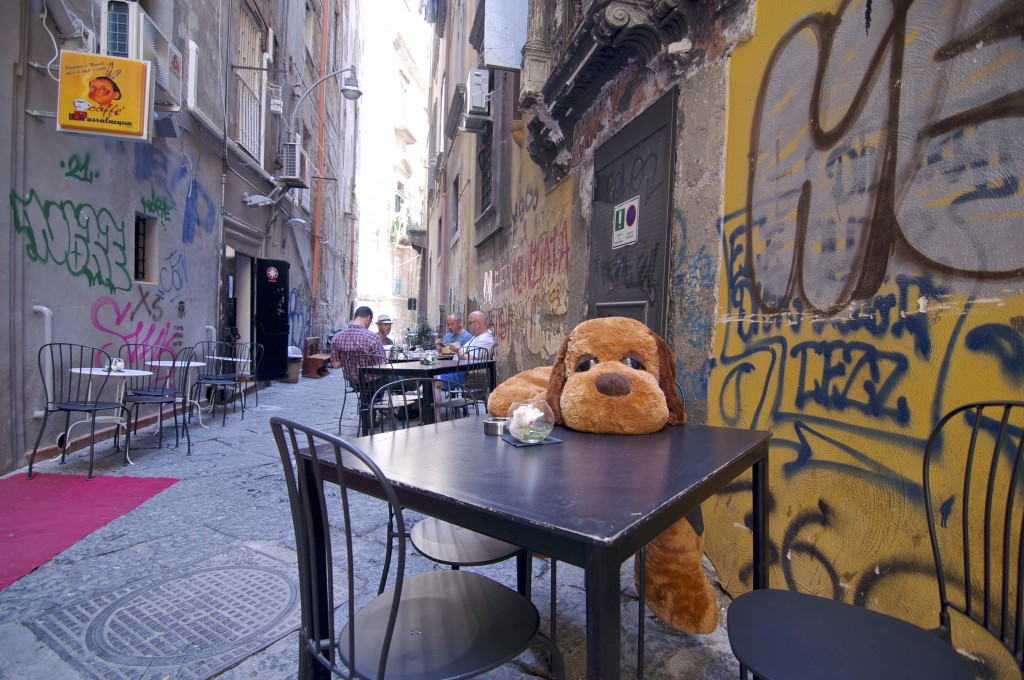 Street in Naples, Italy
