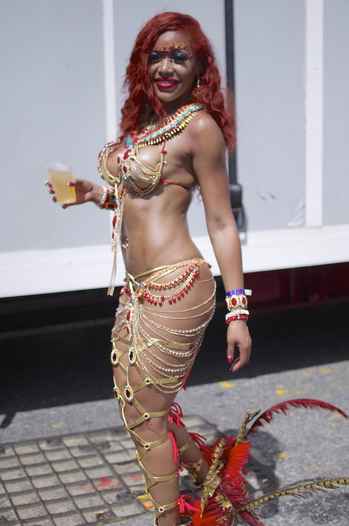 Costumes at Carnival in Trinidad