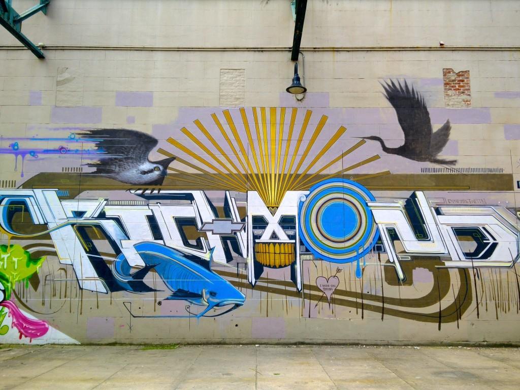 Richmond street art.