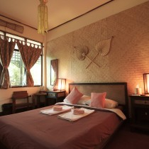The lovely and comfortable rooms at Cool Guesthouse.