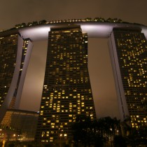 The stunning Marina Bay Sands in Singapore