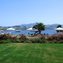 View from the summer house in Bodrum.