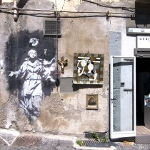 Banksy in Naples