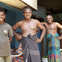 Locals in Sri Lanka