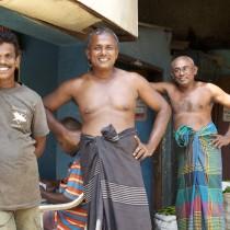 Locals in Sri Lanka